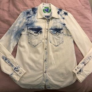 Madewell Dye Western Chambray Shirt